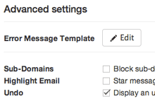 Advanced Spam Blocking for Gmail™