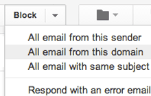 Block Sender for Gmail™