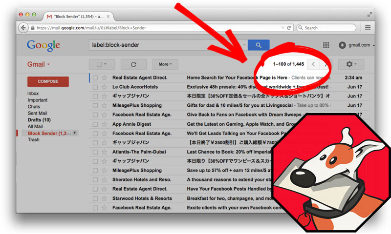 Spam Filter Gmail